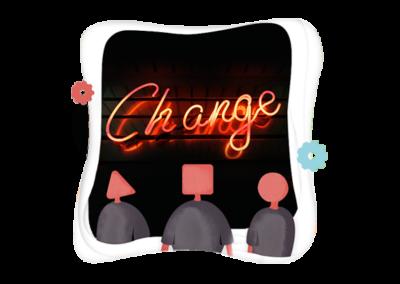 Conduire le changement dans une démarche qualité.